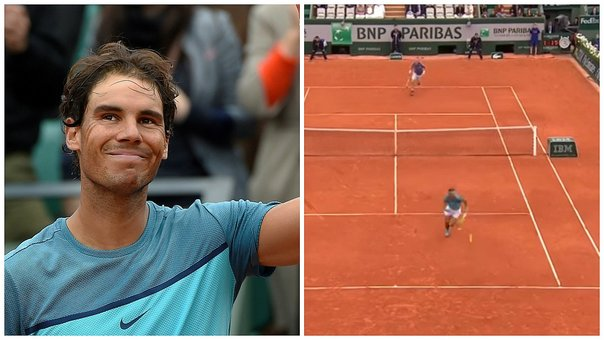 Ronald Garros: Rafael Nadal arrasa en su debut y anota punto brillante (VIDEO)