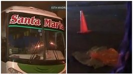 ​Santa Anita: Niña muere atropellada por bus interprovincial (VIDEO)
