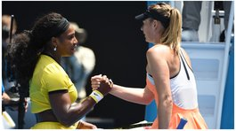 Serena Williams aplaude coraje de Maria Sharapova