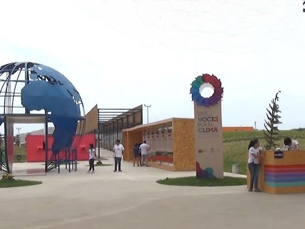 """Voces por el Clima"", un parque para despertar la conciencia ambiental (VIDEO)"