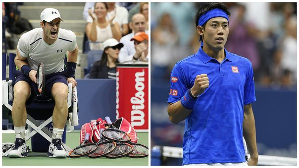 ​Andy Murray cae ante Kei Nishikori en el US Open 2016