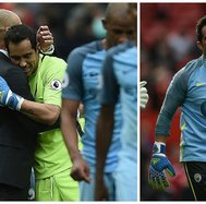 Manchester City: ​Pep Guardiola defendió a Claudio Bravo