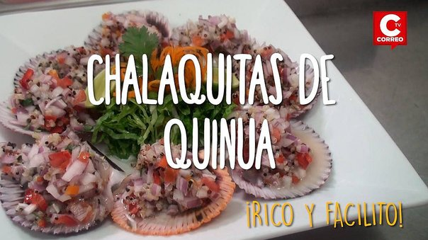 ​Rico y facilito: Chalaquitas de quinua, una alternativa buenísima (VIDEO)