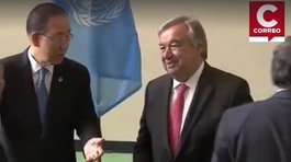 ONU nombra oficialmente a Antonio Guterres nuevo secretario general [VIDEO]