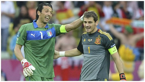 Gianluigi Buffon iguala el récord europeo de Iker Casillas (FOTOS)