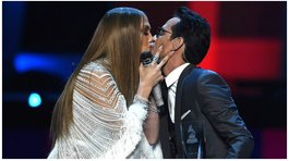 Marc Anthony y J.Lo asombraron con un beso en los Grammy Latino ¿Regresaron? (VIDEO)
