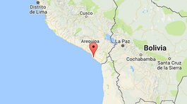 Temblor remece el sur del Perú y norte de Chile