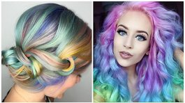 Cabello de unicornio: tendencia del 2017 que remece Facebook (FOTOS)