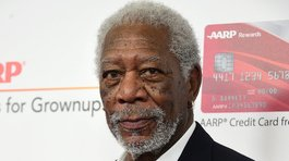Morgan Freeman recibe premio honorífico y destaca virtudes de la edad adulta