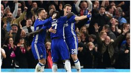 FA Cup: Chelsea pasó a semis tras vencer al Manchester United