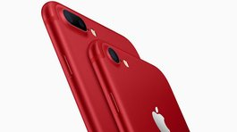 Apple presenta un iPhone rojo por noble causa