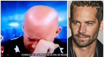 Paul Walker: el preciso momento en que Vin Diesel se quiebra en vivo tras recordarlo (VIDEO)