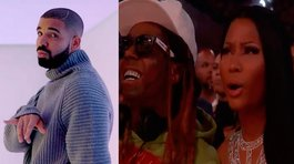 "​Billboard Music Awards 2017: Drake ""piropea"" a Vanessa Hudgens y así reacciona Nicki Minaj"