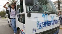 Cusco: Universitarios capturan 30 buses en protesta por alza de pasajes (FOTOS)