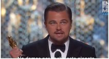 Leonardo DiCaprio debe devolver Oscar (VIDEO)