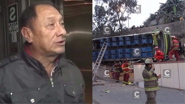 "Dueño de Green Bus tras accidente en cerro San Cristóbal: ""Es una cosa fortuita"" (VIDEO)"
