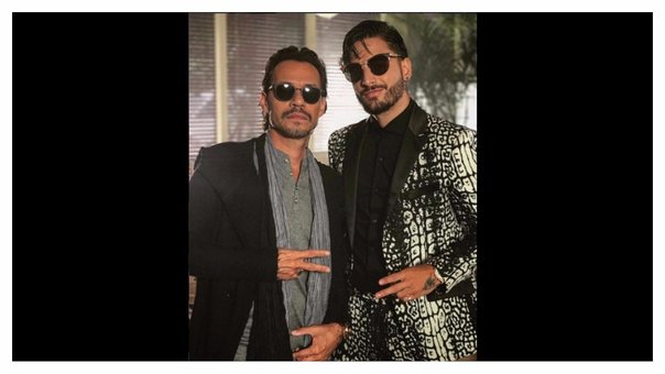 "Marc Anthony y Maluma lanzan audio oficial de ""Felices los 4"""