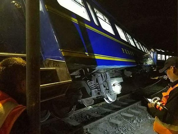 Tren para Machu Picchu: Vagón se descarrila en Cusco (FOTOS)