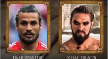 ​Game of Thrones: futbolistas idénticos a personajes de la serie [VIDEO]