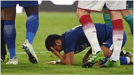 ​Chelsea: Pedro hospitalizado con una conmoción cerebral tras terrible choque [VIDEO]