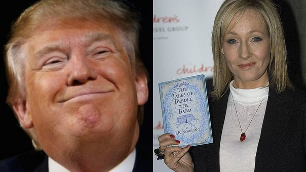 "Autora de ""Harry Potter"" comparó a Donald Trump con un anfibio [FOTO]"