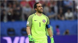 Claudio Bravo estalla en ira por posible sanción a Chile