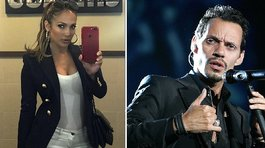 Jennifer Lopez comparte tierna foto de su exesposo Marc Anthony