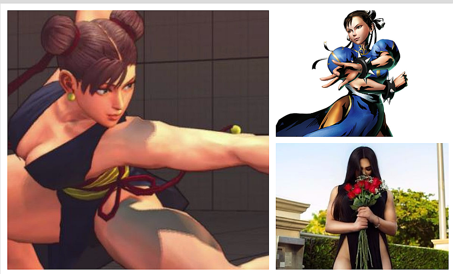 Street Fighter: modelo impacta al transformar su cuerpo para parecerse a Chun-Li (VIDEO y FOTOS)