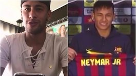 ​Neymar y su sentida despedida del Barcelona [VIDEO]