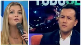 Brunella Horna: Así reaccionó en vivo al ver desaire de Richard Acuña (VIDEO)
