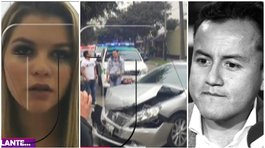 Brunella Horna vivió terrible accidente en carro de madre de Richard Acuña (VIDEO)