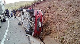 Investigan accidente en la ruta Sicuani - Espinar (Cusco)