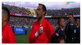 Chile vs. Bolivia: hinchas bolivianos pifiaron himno chileno (VIDEO)