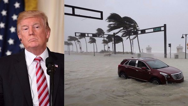 Huracán Irma: Donald Trump declara estado de catástrofe natural para Florida (VIDEO)