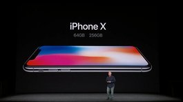 "Apple presentó el iPhone X, ""el futuro del smartphone"" (VIDEO)"