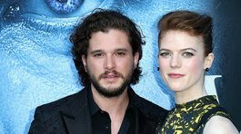 Kit Harington y Rose Leslie, de Game of Thrones, anunciaron su compromiso