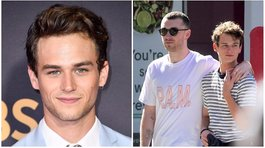 "Actor de ""13 Reasons Why"" y Sam Smith confirman su romance con un beso (FOTOS)"