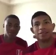 Edison Flores y Andy Polo lanzaron blooper viral previo al partido con Colombia (VIDEO)