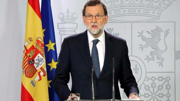 Mariano Rajoy da ultimátum de cinco días a Cataluña (VIDEO)