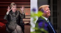 Donald Trump satirizó a Hillary Clinton en Twitter (VIDEO)