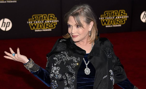 Carrie Fisher: la fulminante respuesta de la 'princesa Leia' al acoso de un productor de Hollywood