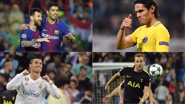 Champions League y la tabla de los máximos goleadores (VIDEO)
