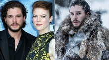 Game of Thrones: Kit Harington se disfrazó de 'Jon Snow' por Halloween