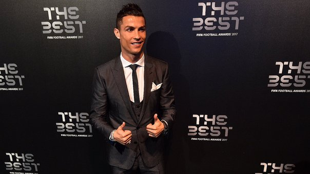 Cristiano Ronaldo y el bochornoso momento que pasó durante The Best 2017 (VIDEO)