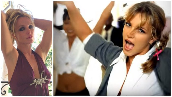 Britney Spears revive el look de colegiala y causa furor en Instagram (VIDEO)