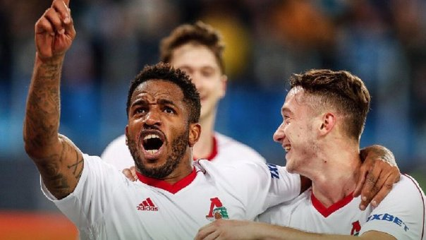 ​Jefferson Farfan anotó dos golazos en triunfo del Lokomotiv (VIDEO)