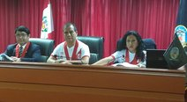 Jueces dictan sentencia vistiendo la camiseta de la selección peruana (FOTOS Y VIDEO)