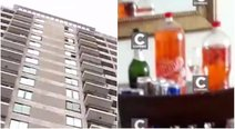 Video confirma que PNP halló botellas de licor en inmueble donde murió voleibolista