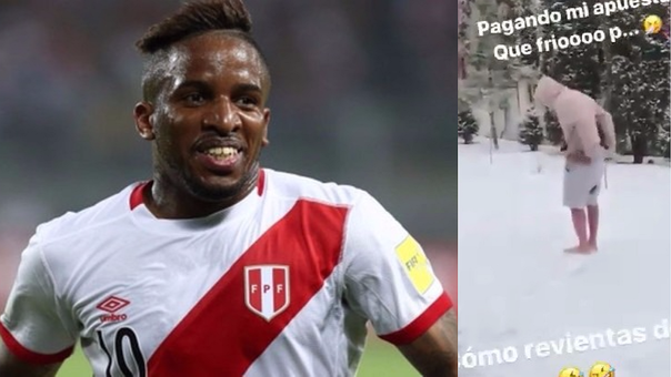 Jefferson Farfán cumplió reto en Rusia (VIDEO)