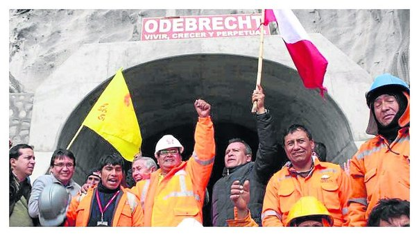 Odebrecht iba a ejecutar Proyecto Chinecas